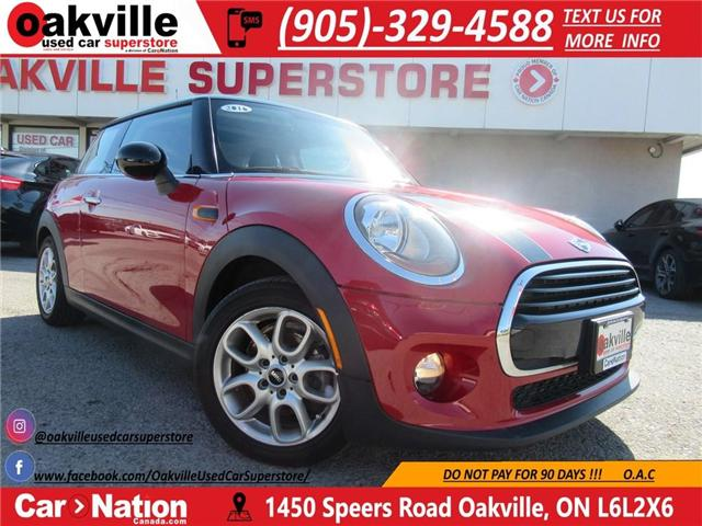 2016 MINI Cooper 3 Door LEATHER | PANOROOF | ACCIDENT FREE! (Stk: P11320) in Oakville - Image 1 of 24