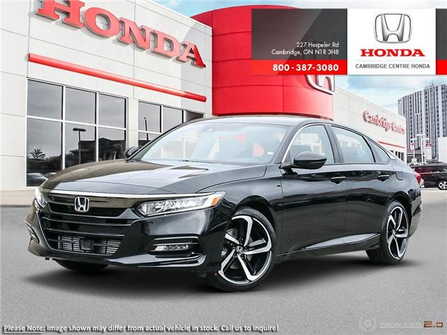 2019 Honda Accord Sport 1.5T (Stk: 19205) in Cambridge - Image 1 of 24