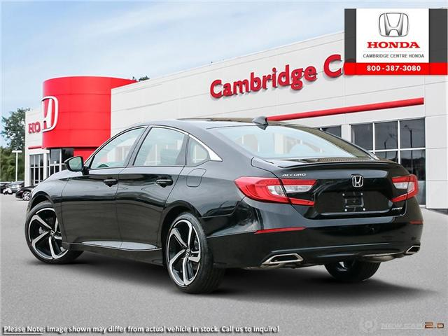 2019 Honda Accord Sport 1.5T (Stk: 19205) in Cambridge - Image 4 of 24