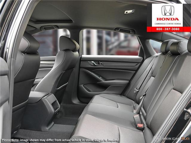 2019 Honda Accord Sport 1.5T (Stk: 19205) in Cambridge - Image 22 of 24