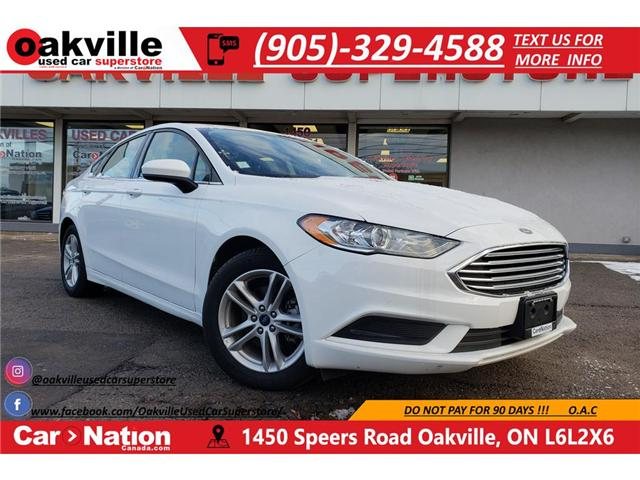 2018 Ford Fusion SE | HTD SEATS | B/U CAM | SUNROOF | WHY BUY NEW? (Stk: OSP009) in Oakville - Image 1 of 25