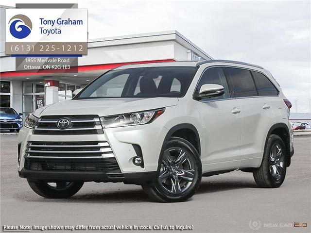 2019 Toyota Highlander Limited (Stk: 57615) in Ottawa - Image 1 of 10