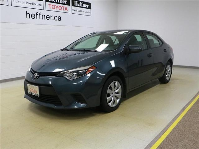 2014 Toyota Corolla LE (Stk: 186517) in Kitchener - Image 1 of 27
