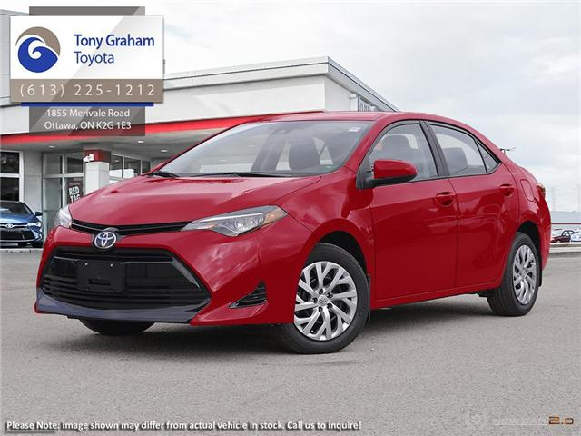 2018 Toyota Corolla LE Upgrade Package (Stk: 56837) in Ottawa - Image 1 of 22