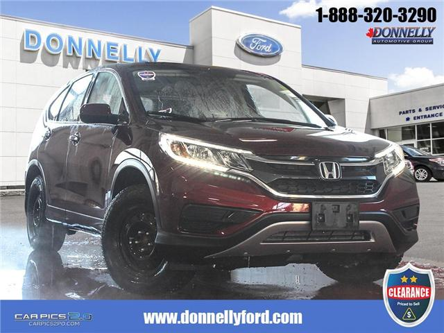 2015 Honda CR-V SE (Stk: CLDR2146A) in Ottawa - Image 1 of 28