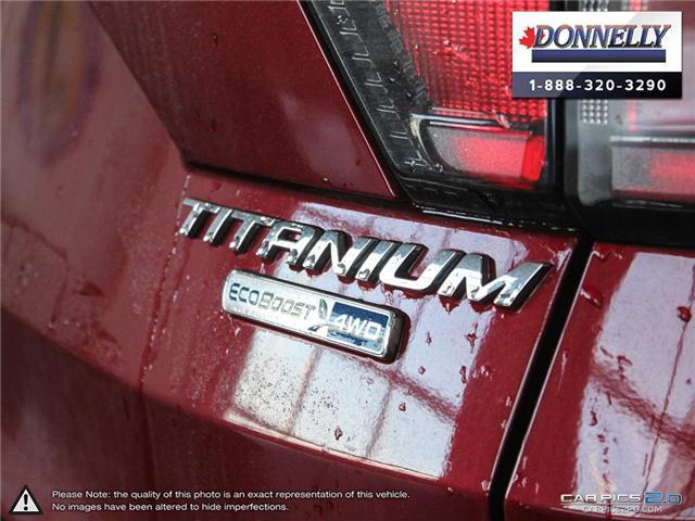 2017 Ford Escape Titanium (Stk: PLDU5914AL) in Ottawa - Image 12 of 29