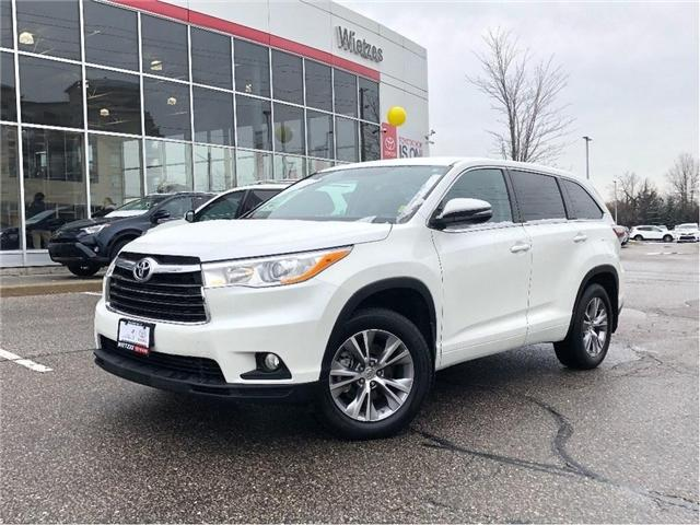 2015 Toyota Highlander LE (Stk: U2227) in Vaughan - Image 1 of 26