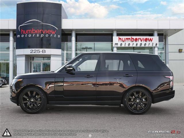 2018 Land Rover Range Rover DIESEL Td6 HSE (Stk: 18MSX584) in Mississauga - Image 3 of 27