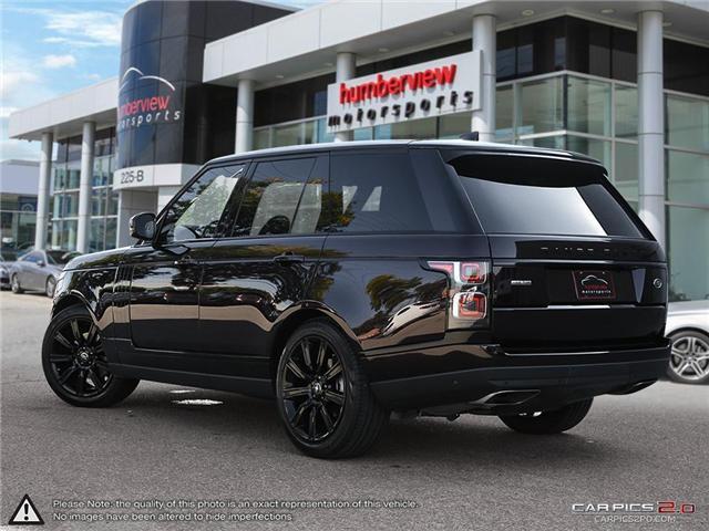 2018 Land Rover Range Rover DIESEL Td6 HSE (Stk: 18MSX584) in Mississauga - Image 4 of 27