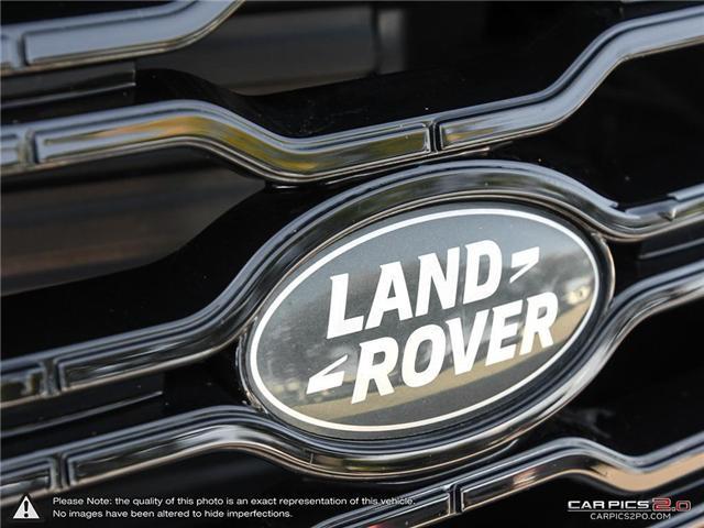 2018 Land Rover Range Rover DIESEL Td6 HSE (Stk: 18MSX584) in Mississauga - Image 9 of 27