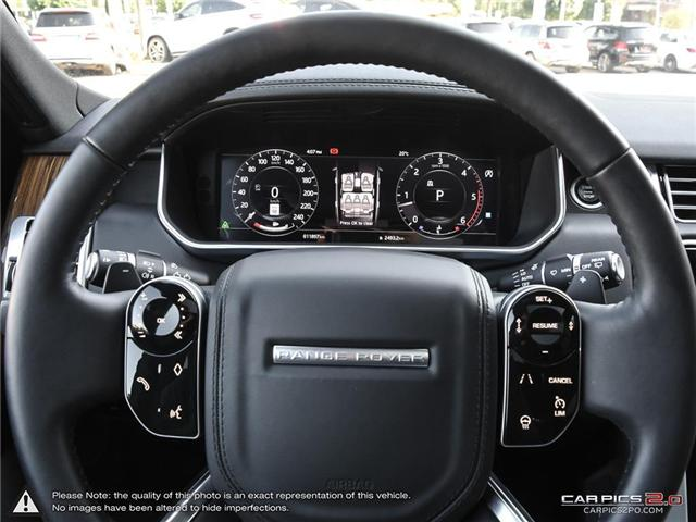 2018 Land Rover Range Rover DIESEL Td6 HSE (Stk: 18MSX584) in Mississauga - Image 14 of 27