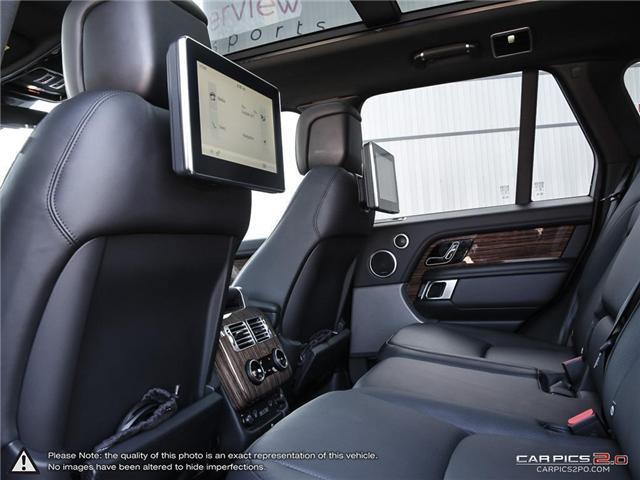 2018 Land Rover Range Rover DIESEL Td6 HSE (Stk: 18MSX584) in Mississauga - Image 24 of 27