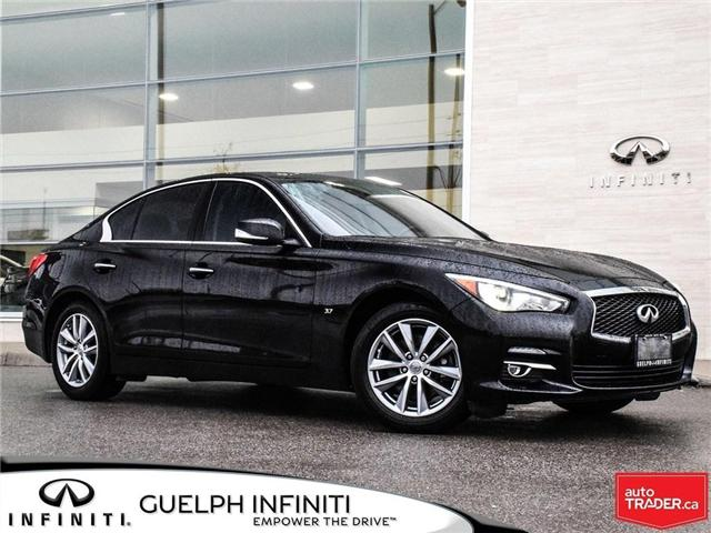 2015 Infiniti Q50  (Stk: I6612A) in Guelph - Image 1 of 14