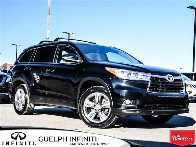 2014 Toyota Highlander  (Stk: I6831A) in Guelph - Image 1 of 19