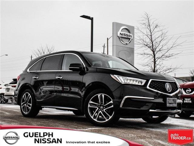 2017 Acura MDX Navigation Package (Stk: N19419A) in Guelph - Image 1 of 22