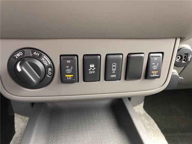 2018 Nissan Frontier Midnight Edition (Stk: P2522) in Cambridge - Image 22 of 25