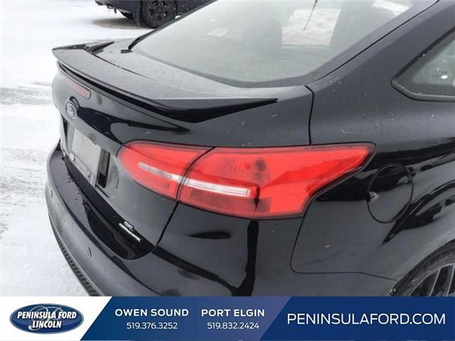 2016 Ford Focus SE (Stk: 18FO28A) in Owen Sound - Image 10 of 24