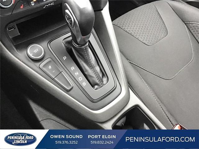 2016 Ford Focus SE (Stk: 18FO28A) in Owen Sound - Image 17 of 24