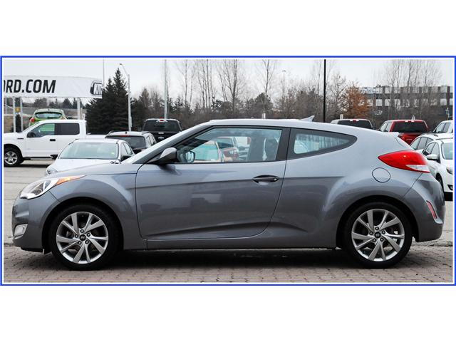 2016 Hyundai Veloster Base (Stk: 8D9850BJ) in Kitchener - Image 2 of 14