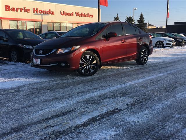 2015 Honda Civic EX (Stk: U15622) in Barrie - Image 1 of 16
