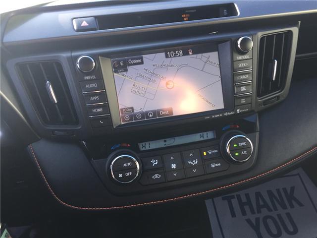 2016 Toyota RAV4 SE (Stk: -u21618) in Kincardine - Image 14 of 14