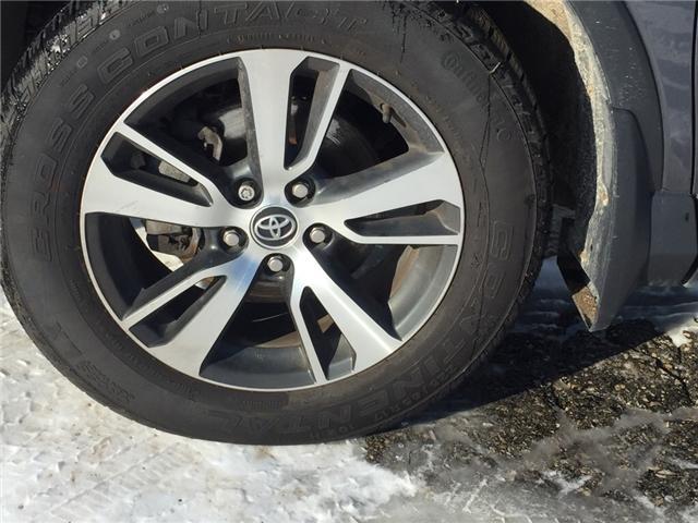 2016 Toyota RAV4 XLE (Stk: -u09818) in Kincardine - Image 9 of 14