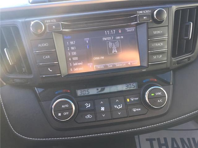 2016 Toyota RAV4 XLE (Stk: -u09818) in Kincardine - Image 14 of 14
