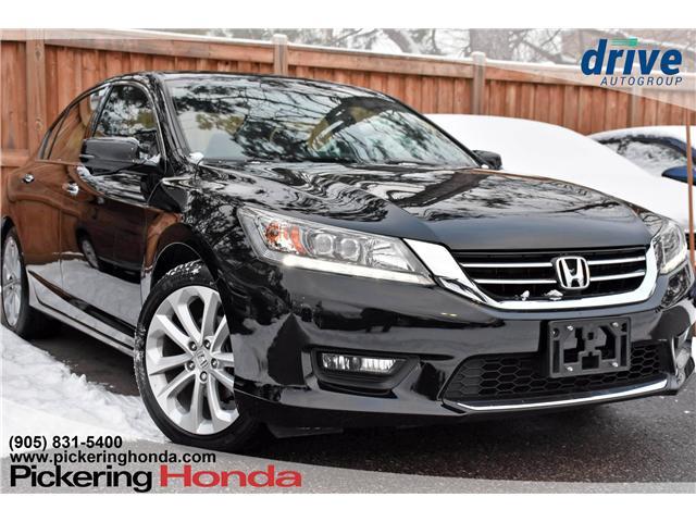 2015 Honda Accord Touring V6 (Stk: P4591) in Pickering - Image 1 of 28