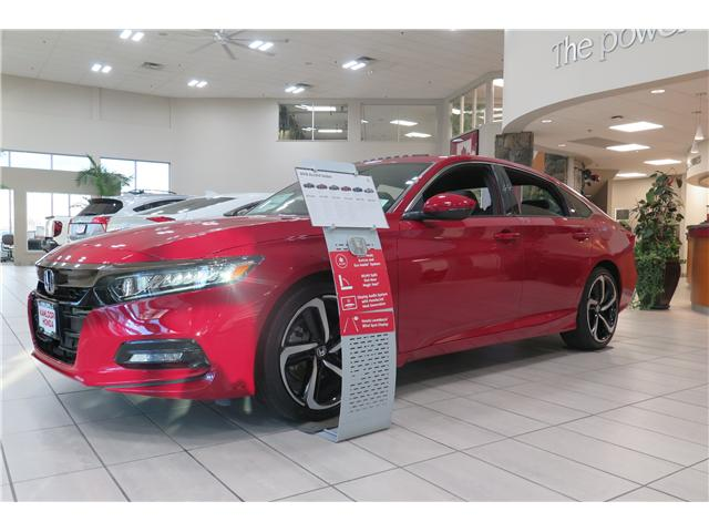 2018 Honda Accord Sport (Stk: N13720) in Kamloops - Image 1 of 13