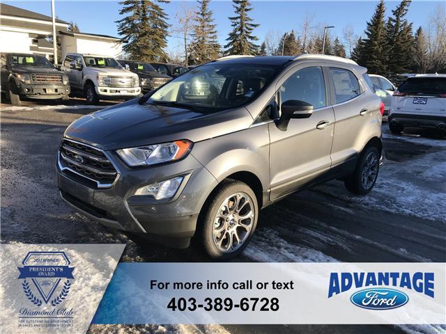 2018 Ford EcoSport Titanium (Stk: J-1542) in Calgary - Image 1 of 6