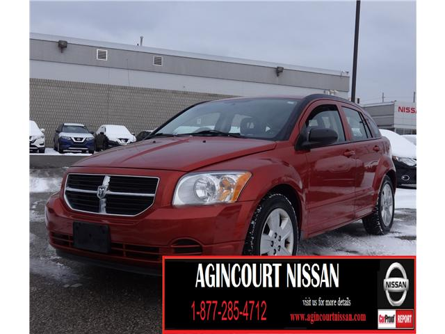 2009 Dodge Caliber SXT (Stk: JC676355B) in Scarborough - Image 1 of 16