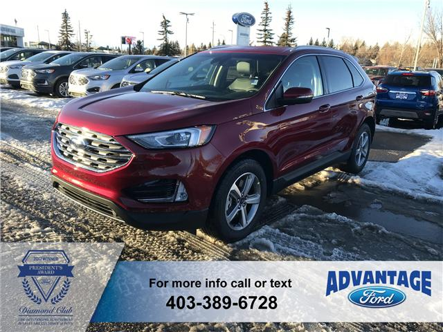 2019 Ford Edge SEL (Stk: K-201) in Calgary - Image 1 of 5