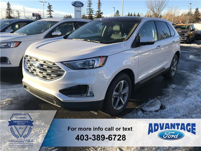 2019 Ford Edge SEL (Stk: K-440) in Calgary - Image 1 of 5