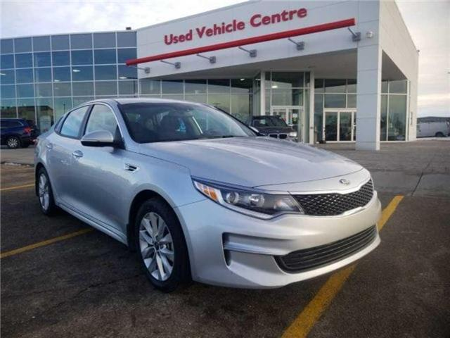2017 Kia Optima LX+ (Stk: U184350) in Calgary - Image 1 of 24
