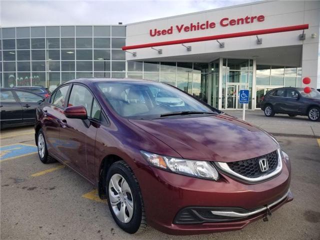 2014 Honda Civic LX (Stk: 2190298A) in Calgary - Image 1 of 23