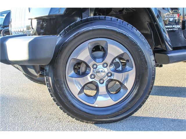 2018 Jeep Wrangler JK Unlimited Sahara (Stk: 18-873569) in Mississauga - Image 2 of 24