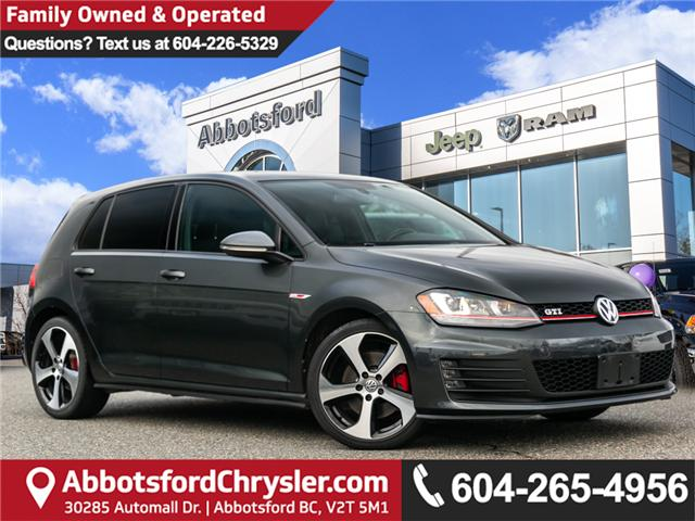 2015 Volkswagen Golf GTI 5-Door Autobahn (Stk: AG0911A) in Abbotsford - Image 1 of 22