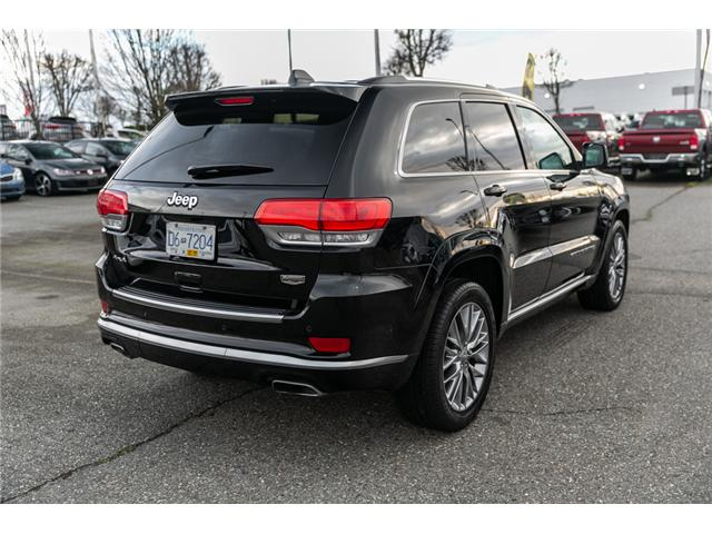 2018 Jeep Grand Cherokee Summit (Stk: J433470A) in Abbotsford - Image 7 of 24