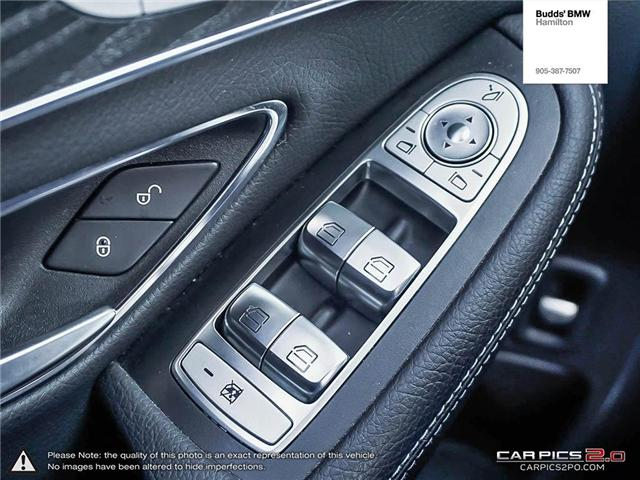 2016 Mercedes-Benz C-Class Base (Stk: T40960PA) in Hamilton - Image 15 of 23