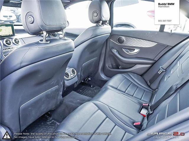 2016 Mercedes-Benz C-Class Base (Stk: T40960PA) in Hamilton - Image 21 of 23