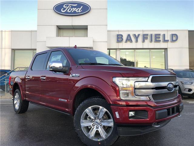 2018 Ford F-150 Platinum (Stk: FP181562) in Barrie - Image 1 of 30
