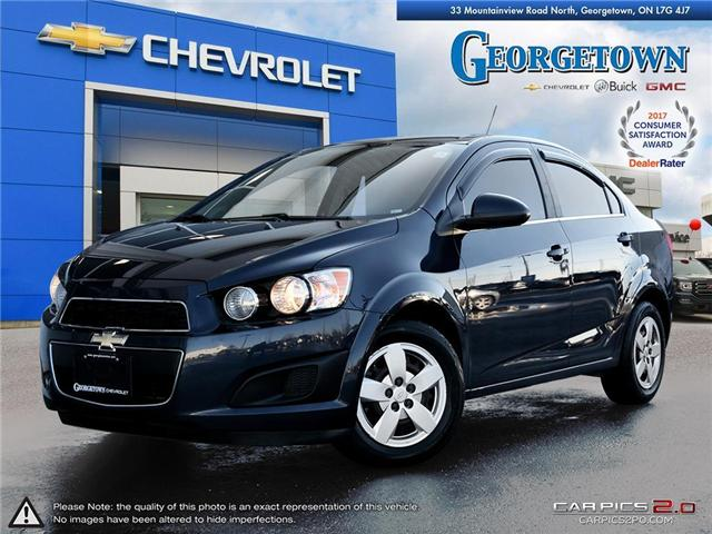 2015 Chevrolet Sonic LT Auto (Stk: 28839) in Georgetown - Image 1 of 27