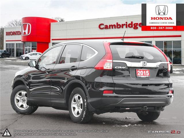 2015 Honda CR-V LX (Stk: 19314A) in Cambridge - Image 4 of 27