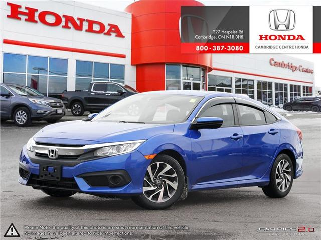 2018 Honda Civic EX (Stk: 19303A) in Cambridge - Image 1 of 27