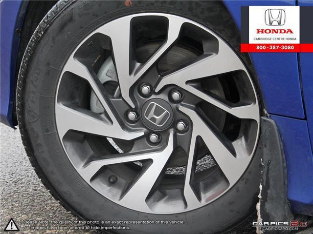2018 Honda Civic EX (Stk: 19303A) in Cambridge - Image 6 of 27