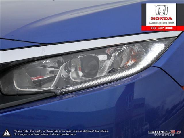 2018 Honda Civic EX (Stk: 19303A) in Cambridge - Image 10 of 27
