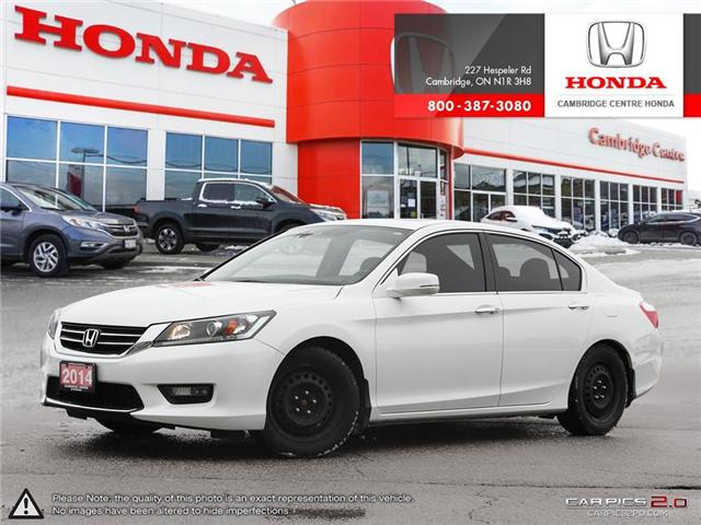 2014 Honda Accord EX-L (Stk: 19026A) in Cambridge - Image 1 of 27