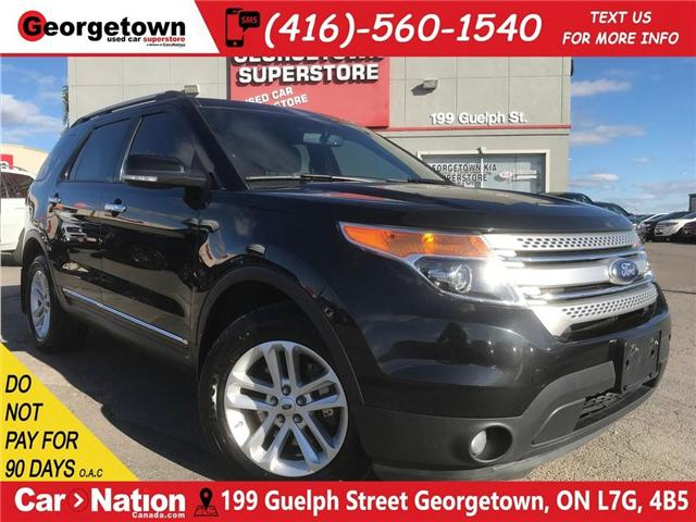 2015 Ford Explorer XLT | NAVI | CAM | CLEAN CARPROOF | LEATHER (Stk: P11502) in Georgetown - Image 1 of 30