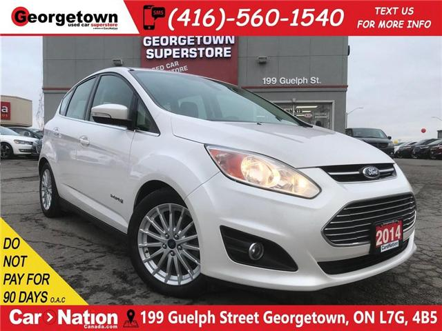 2014 Ford C-Max SEL | HYBRID | LEATHER | NAVI | B/U CAM (Stk: ST19002A) in Georgetown - Image 1 of 30