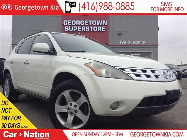 2004 Nissan Murano SL | NAVI | LEATHER | AWD |  YOU CERTIFY YOU SAVE (Stk: FO18072B) in Georgetown - Image 1 of 23